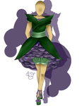 fashion design one:  flower inspired: ROSES by RainbowCreationsII