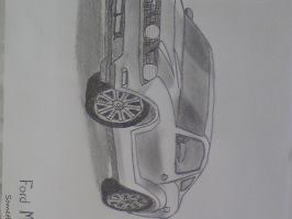 Sketched  Mustang GT by SomethingWild7