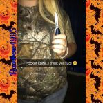 Me and my pocket knife :) by Leadmare111