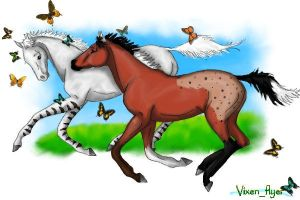 foals by vixentheangryfox