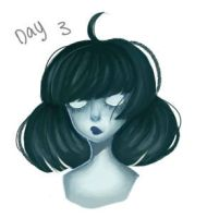Day 3 - Imaginary Creature (Spirit) by CapoCake