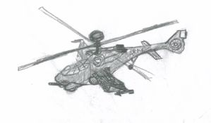 Nice Little Combat Helicopter by SpartaN-PhoeniX