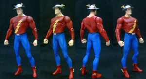 DC Flash Jay Garrick custom by custommaker