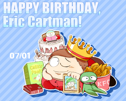SP: Happy Birthday Eric! by hoshikagami