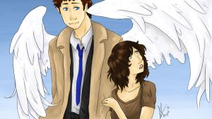Cas and Angela by yuminica