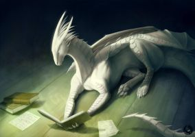 Book dragon by Rastaban26