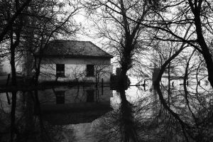 BW flood by Ketike