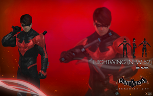 Batman Arkham Knight - Nightwing (New 52) by XNASyndicate