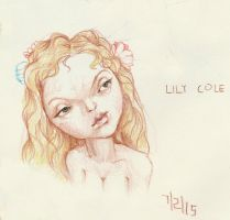 Lily Cole caricature by TERRMITh