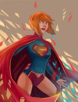 Supergirl by HaggyLagman