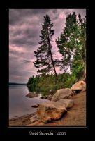 Shoreline Rocks by Mystik-Rider