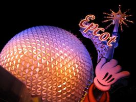 Epcot Spaceship Earth Stock 12 by AreteStock