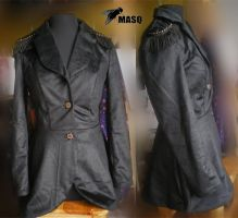 Victorianesque military jacket by masque242