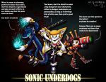 Sonic underdogs featuring team warriors (FIXED) by villyvalley16