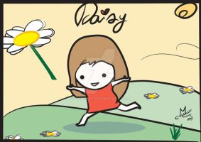 A drawing for Daisy by Merc007