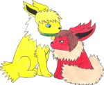 Guy and Alex as Pokemon by YunaStrife