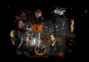 The Hunger Games made with Texture 25 by VaL-DeViAnT