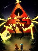 Bill Cipher hunt by z3llychan