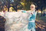 The cold never bothered me anyway- Elsa Genderbend by MaKi-Cosplay