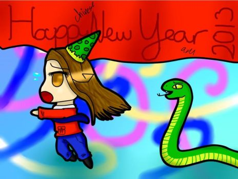 HAPPY NEW YEAR AWESOME PEOPLE by Ask-Sicily-Chan