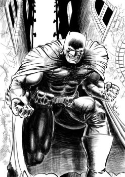 Batman Dark Knight by mantoano