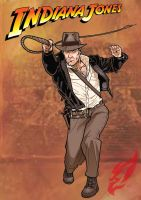 Indiana Jones by BongzBerry