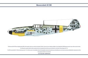 Bf 109 F-2 JG3 1 by WS-Clave