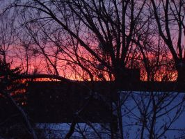 Winter Sunset by Pentacle5