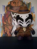Munny Rorshach by KidNotorious