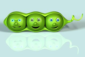 Peas in a Pod by C-Williams