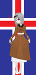 APH Pixel: OFFICIAL Fem!Iceland by TheMistressOfAnime