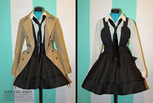 Castiel - Supermatural - Cosplay Jumper Pinafore by DarlingArmy