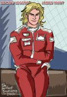 Racing Legend James Hunt by theperfectbromance