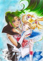 I dream you to me (Setsuna X Usagi /Pluto X Moon) by SilverSerenity1983