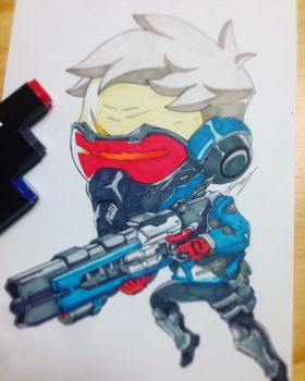 Overwatch Soldier76 by shomin96