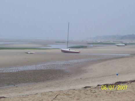 low tide, poor boats by Paige-1