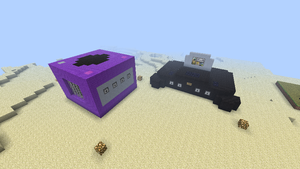 Minecraft Gamecube and Nintendo 64 by shadwgrl