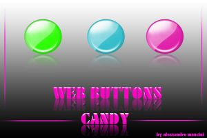 WEB BUTTONS - Candy by AlessandroMancini