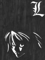 Death Note - L by Warrayfinson