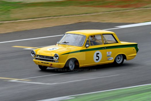 Ford Lotus Cortina No 5 by Willie-J