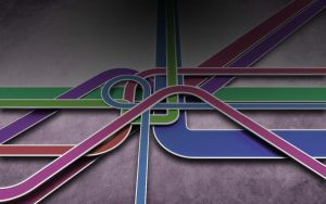 Colourful Autobahn_03 by occasionallyxxx