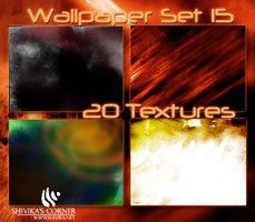 Wallpaper Texture Set 15 by spiritcoda