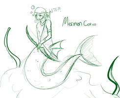 merMAN Corvo by LittleChiChi