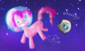 Pinkie and Wheatley by cryptmonkey