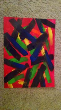 Mask Strokes by New2Acrylic