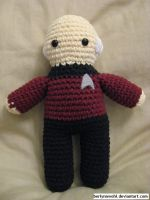 Captain Picard by berlynnwohl