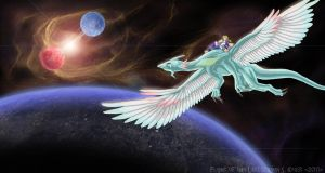 Flight of the Last Dragon by Typthis