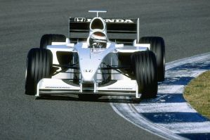 Jos Verstappen (Spain Test Session 1999) by F1-history