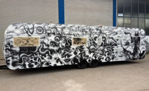 WOHNZILLA caravan I airbrushed by graynd