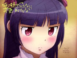 ruri gokou colored by reijr